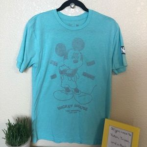 Mickey Mouse t shirt reverse print oh boy Disney